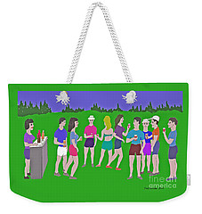 Lawn Party  Weekender Tote Bag