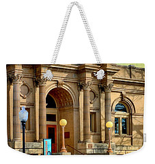 Lawrence City Library Weekender Tote Bag