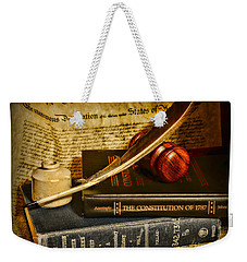 Lawyer - The Constitutional Lawyer Weekender Tote Bag by Paul Ward