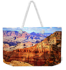 Layers Of The Canyon Weekender Tote Bag by Tara Turner