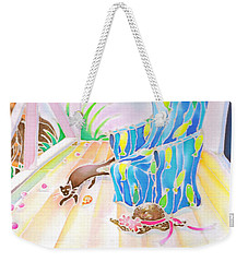 Lazy Afternoon Weekender Tote Bag