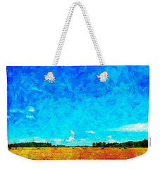Lazy Clouds In The Summer Sun Weekender Tote Bag