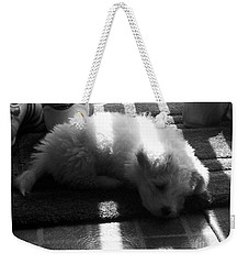 Weekender Tote Bag featuring the photograph Lazy Days by Michael Krek