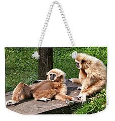 Lazy Life Weekender Tote Bag