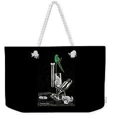 Le Perroquet Vert Weekender Tote Bag by Elf Evans