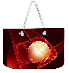 Weekender Tote Bag featuring the digital art Lead Me Into Temptation by Gabiw Art
