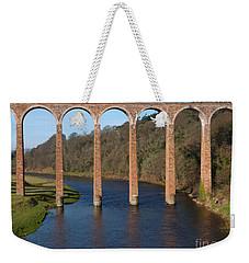 Leaderfoot Viaduct - River Tweed - Scotland Weekender Tote Bag