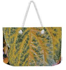 Leaf After Rain Weekender Tote Bag by Bill Owen