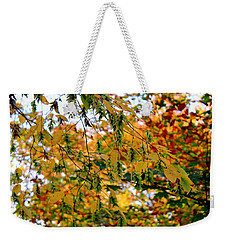 Leaf Breezes Weekender Tote Bag