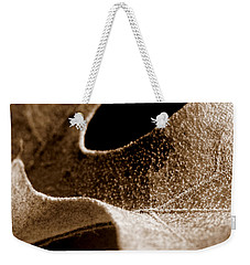 Weekender Tote Bag featuring the photograph Leaf Collage 3 by Lauren Radke