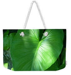 Leaf Heart Weekender Tote Bag