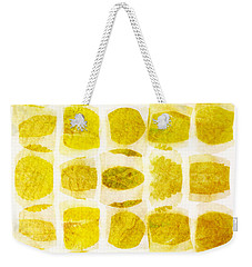 Leaf Impression Weekender Tote Bag