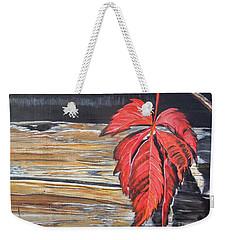 Leaf Shadow Weekender Tote Bag