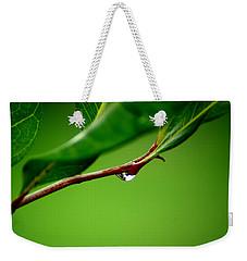 Leafdrop Weekender Tote Bag