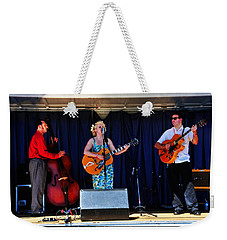 Leah And Her J Walkers Weekender Tote Bag by Mike Martin