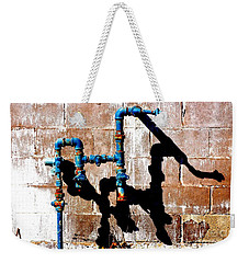 Weekender Tote Bag featuring the photograph Leaky Faucet II by Christiane Hellner-OBrien