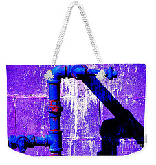 Weekender Tote Bag featuring the photograph Leaky Faucet IIi by Christiane Hellner-OBrien