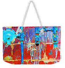 Weekender Tote Bag featuring the photograph Leaky Faucet by Christiane Hellner-OBrien