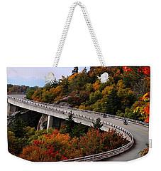 Lean In For A Ride Weekender Tote Bag