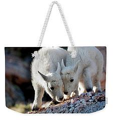 Lean On Me Weekender Tote Bag