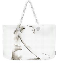 Leaning To The Side Lutar Sig Weekender Tote Bag