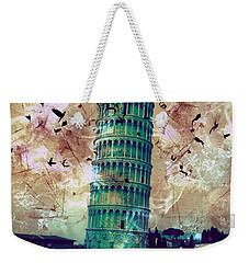 Leaning Tower Of Pisa 1 Weekender Tote Bag