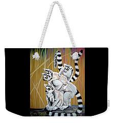 Leapin Lemurs Weekender Tote Bag