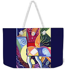 Leaping And Bouncing Weekender Tote Bag