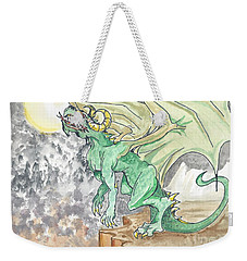Leaping Dragon Weekender Tote Bag