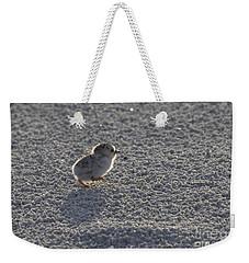 Least Tern Chick Weekender Tote Bag by Meg Rousher