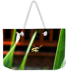 Weekender Tote Bag featuring the photograph Leave No Bee Behind by Thomas Woolworth