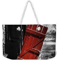 Leave The Door Open Weekender Tote Bag