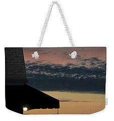 Leave The Light On Weekender Tote Bag