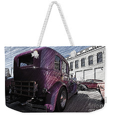 Weekender Tote Bag featuring the photograph Leavenworth Kansas by Liane Wright