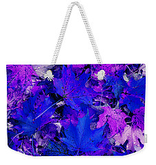 Leaves Weekender Tote Bag by Aimee L Maher Photography and Art Visit ALMGallerydotcom