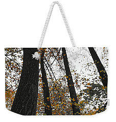 Leaves Lost Weekender Tote Bag by Photographic Arts And Design Studio