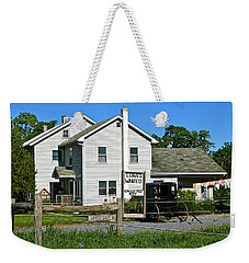 Leaves Wanted Grass Fed Beef Horseshoeing Weekender Tote Bag