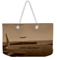 Leaving Japan Weekender Tote Bag