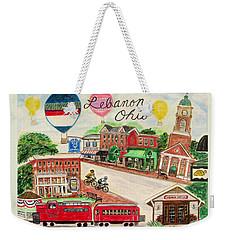 Lebanon Ohio Weekender Tote Bag