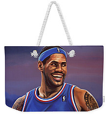 Lebron James  Weekender Tote Bag by Paul Meijering