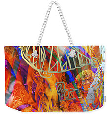 Led Shred Weekender Tote Bag by Kevin Caudill