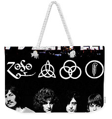 Led Zeppelin Weekender Tote Bag