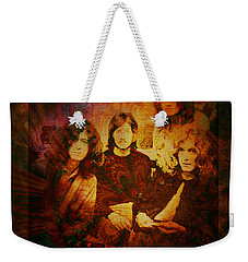 Led Zeppelin - Kashmir Weekender Tote Bag by Absinthe Art By Michelle LeAnn Scott