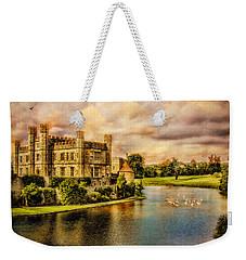 Leeds Castle Landscape Weekender Tote Bag
