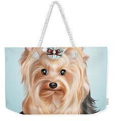 Leetl Luloo Zazu  Weekender Tote Bag by Catia Cho
