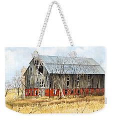 Left Behind Weekender Tote Bag by Barbara Jewell