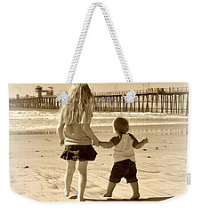 Left Foot Right Foot Weekender Tote Bag