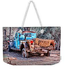 Left Over Hay Weekender Tote Bag