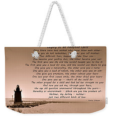 Legacy Of An Adopted Child Weekender Tote Bag