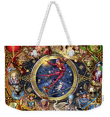 Legacy Of The Divine Tarot Weekender Tote Bag by Ciro Marchetti
